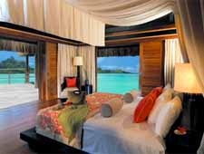 Room at The St. Regis Bora Bora Resort, Motu Ome'e, PF
