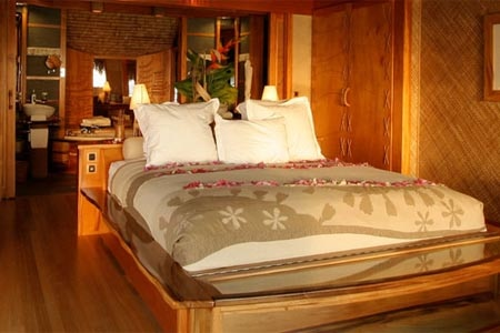 Room at Le Taha'a Island Resort & Spa, Taha'a Island, PF