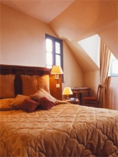 Room at La Mere Poulard, Le Mont Saint Michel, FR