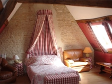 Room at La Pommeraie, Bénouville, FR