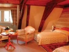 Room at Hostellerie Abbaye de la Pommeraie, Sélestat, FR
