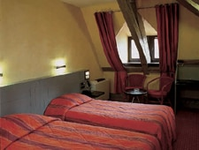 Room at L'Hotel Baumann, Strasbourg, FR