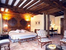 Room at Le Relais Bernard Loiseau, Saulieu, FR