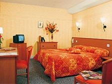 Room at Le Relais du Soleil d'Or, Montignac, FR