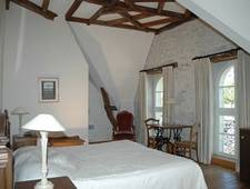 Room at Domaine de la Rhue, Rocamadour, FR