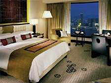 Room at Four Seasons Hotel Hong Kong, Hong Kong, HK