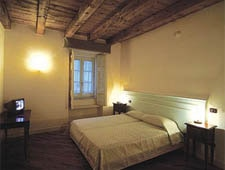Room at Castello Ducale, Castel Campagnano, IT