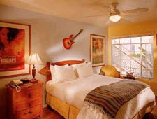 Room at Hotel California, Santa Monica, CA