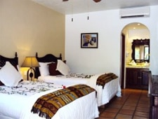 Room at Tropicana Inn & Bar, San Jose del Cabo, BCS