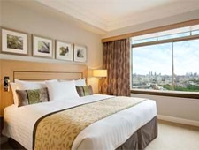 Room at The London Hilton on Park Lane, London, GB