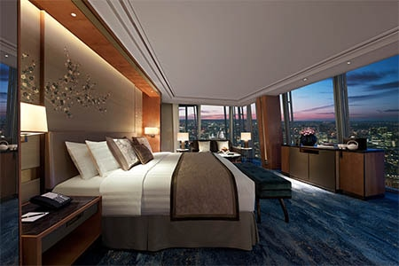 Room at Shangri-La Hotel at The Shard, London, London, GB