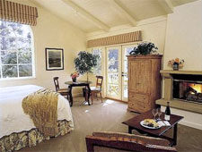 Room at Bernardus Lodge, Carmel Valley, CA