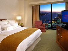 Room at Detroit Marriott at the Renaissance Center, Detroit, MI