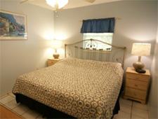 Bedroom at Sandpiper Inn in Longboat Key, FL