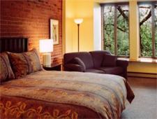 Room at Auberge de La Fontaine, Montréal, QC