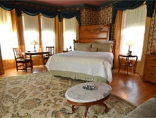 Room at Ann Bean Mansion, Stillwater, MN