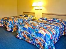 Room at Motel 6, Richfield, MN