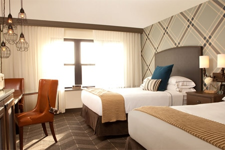 Room at The Commons Hotel, Minneapolis, MN