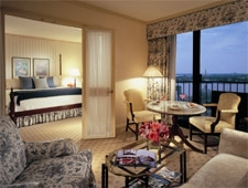 Room at Windsor Court Hotel, New Orleans, LA