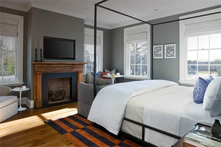Room at Topping Rose House, Bridgehampton, NY