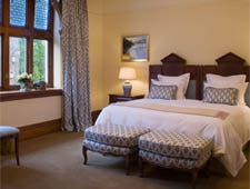 Room at Otahuna Lodge, Christchurch, NZ