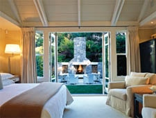 Room at Huka Lodge, Taupo, NZ