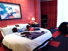 Room at Disneyland Hotel, Anaheim, CA