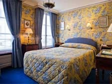Room at Duc de Saint-Simon, Paris, FR