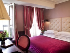 Room at Hotel Lenox, Paris, FR