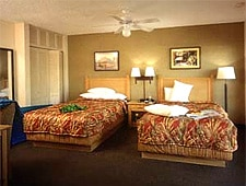 Room at Caliente Tropics Resort, Palm Springs, CA