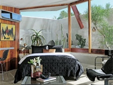 Room at Hotel Lautner, Desert Hot Springs, CA