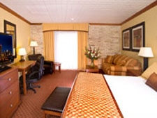 Room at Riverwalk Plaza Hotels & Suites, San Antonio, TX