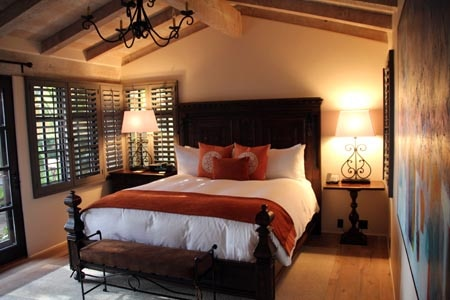 Room at Rancho Valencia, Rancho Santa Fe, CA