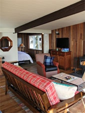 Room at Iron Springs Resort, Copalis Beach, WA