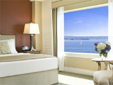 Room at Woodmark Hotel, Yacht Club & Spa, Kirkland, WA
