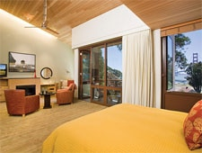 Room at Cavallo Point - The Lodge at the Golden Gate, Sausalito, CA