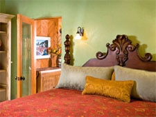 Room at El Farolito Bed & Breakfast Inn, Santa Fe, NM