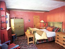 Room at Hacienda del Sol, Taos, NM