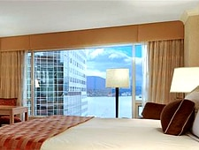 Room at The Fairmont Waterfront, Vancouver, BC