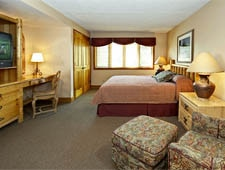 Room at Jackson Hole Lodge, Jackson, WY