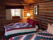 Room at Jenny Lake Lodge, Moran, WY
