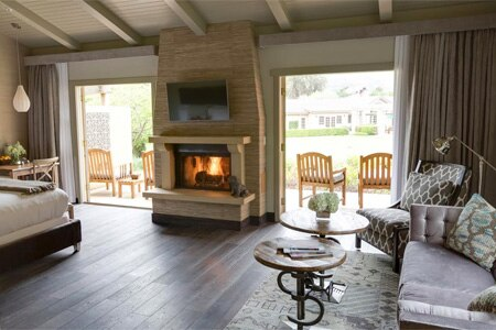 Room at Bernardus Lodge & Spa, Carmel Valley, CA