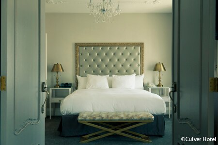Room at The Culver Hotel, Culver City, CA