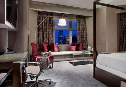 Room at Fairmont Chicago, Millennium Park, Chicago, IL