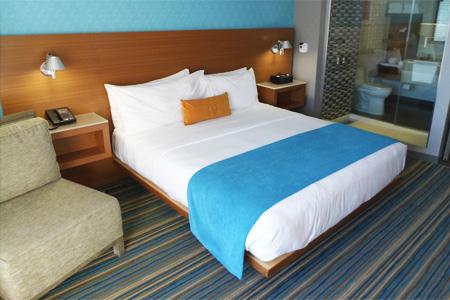 Room at Shore Hotel, Santa Monica, CA