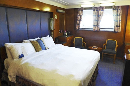Room at The Queen Mary, Long Beach, CA
