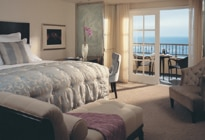 One of the sumptuous Ritz-Carlton Laguna Niguel bedrooms