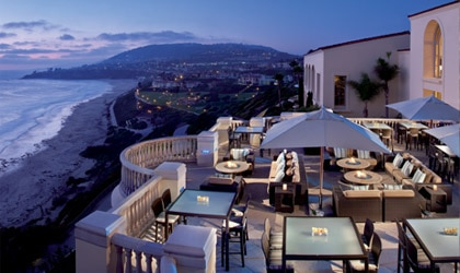 The Ritz-Carlton, Laguna Niguel is set high on a bluff overlooking one of Southern California's most gorgeous bays