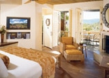 A suite at Auberge du Soleil, Napa Valley, California