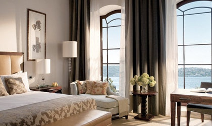 A suite at Four Seasons Istanbul at the Bosphorus
